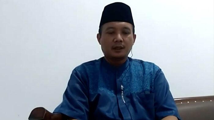 ketua umum Pengurus Pusat Ikatan Keluarga Pondok Modern (IKPM) Gontor, Ust. Dr. M Adib Fuadi Nuriz, M.Phil.