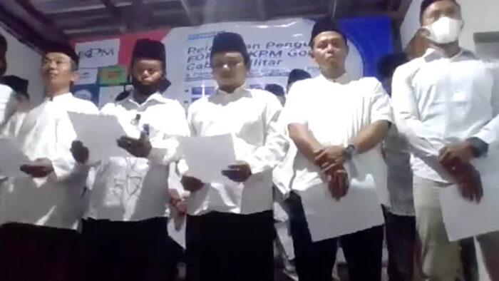Suasana Pelantikan Pengurus Cabang FORBIS IKPM Gontor Cabang Blitar