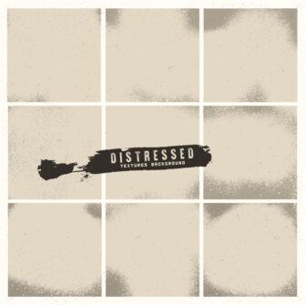 Grunge distressed background set