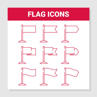 Flag Icons Sent