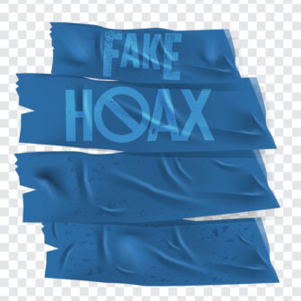 Adhesive Tape With Hoax And Fake Rubber Set
