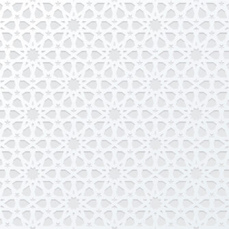 White Arabic Pattern Background