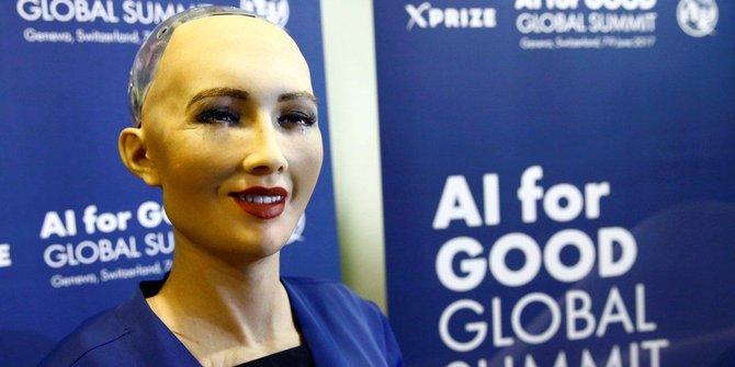 Sophie: Robot Pertama Berwarga Negara Saudi
