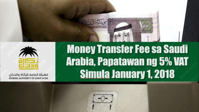 PPN Akan Dikenakan Pada Biaya Transfer Uang Keluar Negeri Arab Saudi