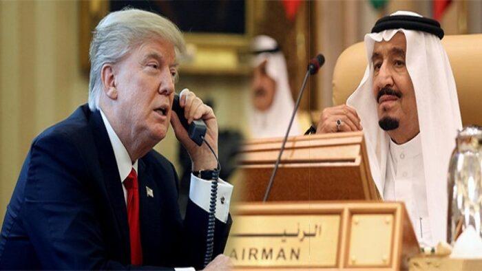 Raja Salman Menelpon Donald Trumph, Ingatkan Amerika Terkait Quds