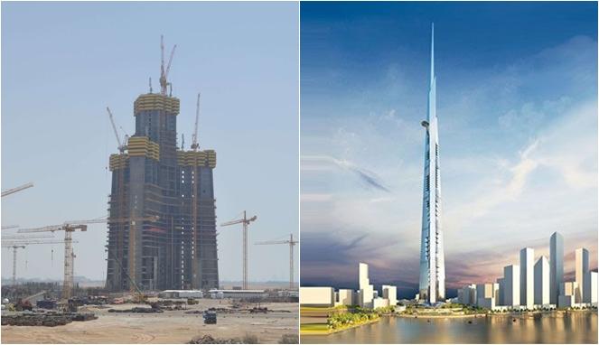 Pembangunan Gedung Pencakar Langit Tertinggi di Jeddah Segera Dimulai