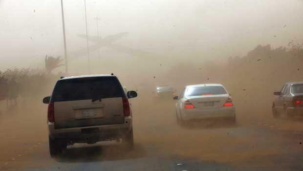 Selasa ini, Hujan Debu di Tengah dan Timur Arab Saudi
