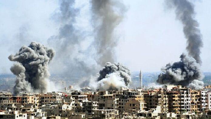 Arab SaudiMengutuk Keras Serangan Bom Kimia di Ghouta oleh Rezim Assad