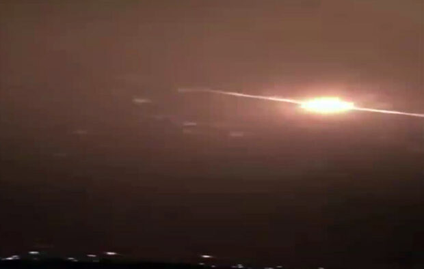 Video: Lagi, Serangan Rudal Balistik Syiah Houtsi ke Kota Najran Berhasil Digagalkan Angkatan Udara Saudi
