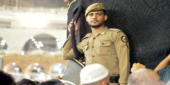 Para Penjaga Hajar Aswad di Makkah