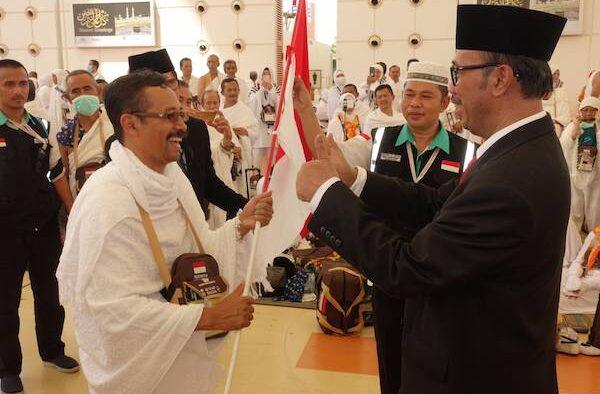 Dubes RI Untuk Arab Saudi Sambut Kedatangan Kloter Pertama Jemaah Haji Indonesia