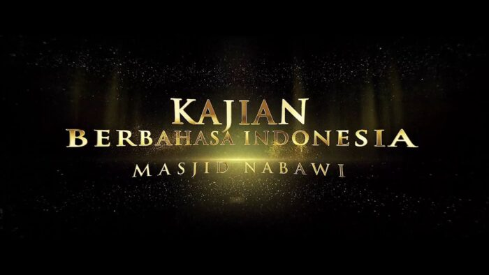 Kabar Gembira! Kajian Bahasa Indonesia di Masjid Nabawi