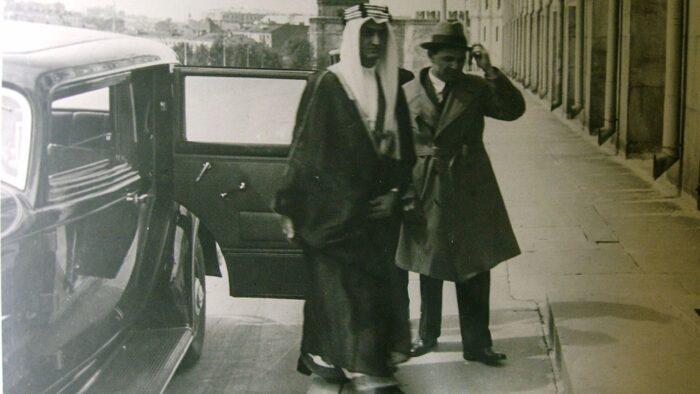 Raja Saudi dan Diplomat Uni Sovyet