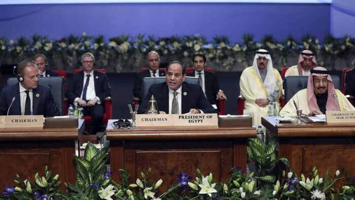 """Raja Salman di KTT Arab-Eropa I: """"Masalah Palestina Adalah Masalah Pertama Negara-negara Arab"""""""