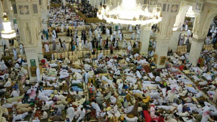 Pendaftaran Peserta Itikaf di Masjidil Haram dan Masjid Nabawi