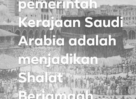 Dulu Di Masjidil Haram, Shalat Dengan 5 Imam Dalam Satu Waktu