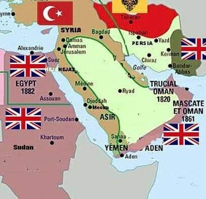 Inggris dan Sejarah Berdirinya Arab Saudi