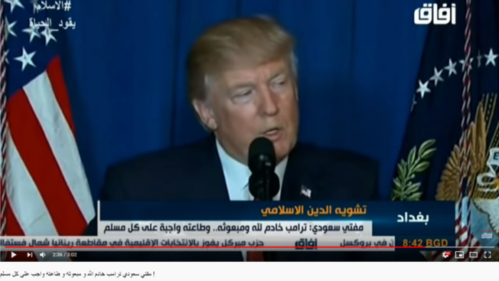 Viral Video Fatwa Donald Trumph Sebagai Utusan Allah