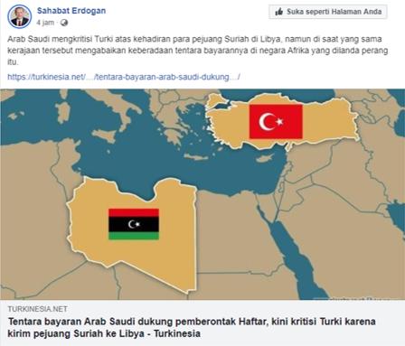 Arab Saudi Tidak Ikut Campur Konflik di Libia