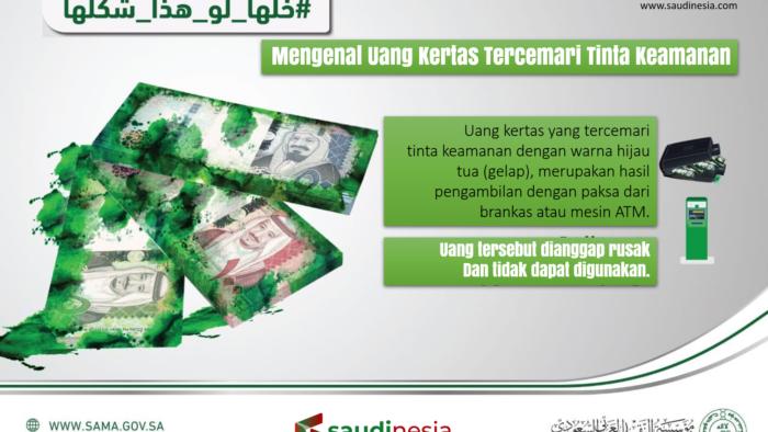 Uang Reyal Saudi yang Tidak Syah Digunakan Sebagai Alat Bayar