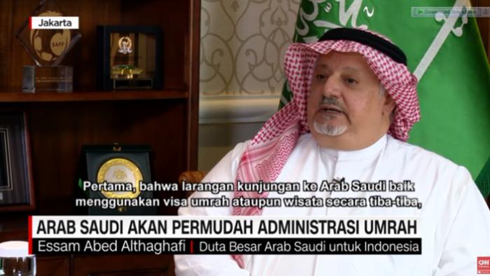 Dubes Arab Saudi Untuk Indonesia: Diharapkan Sebelum Ramadan Umrah Dapat Normal Kembali