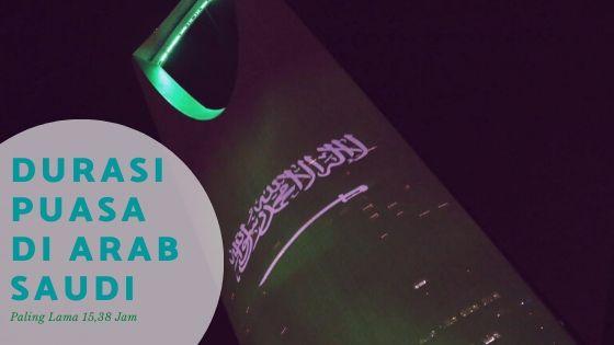Ini Dia Waktu Puasa Ramadan di Kota-kota Arab Saudi