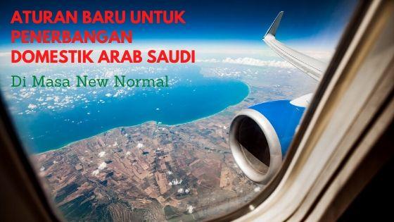 """Aturan Baru Untuk Penerbangan Domestik Arab Saudi di """"New Normal"""""""