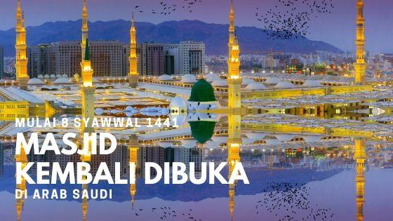 70 Hari 98 Ribu Lebih Masjid Ditutup di Arab Saudi, Bagaimana Umrah dan Haji?