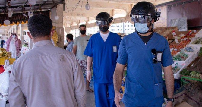 Helm Pintar Untuk Memonitor Suhu Badan di Tempat Umum