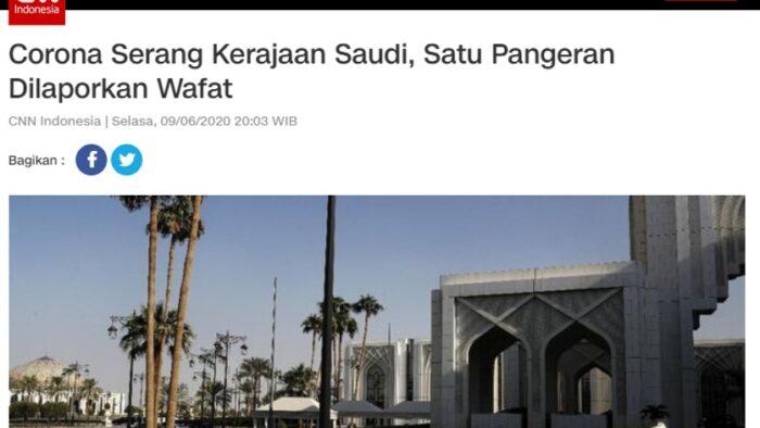 Cara Membaca Berita CNN Indonesia Tentang Keluarga Kerajaan Arab Saudi