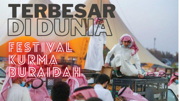 Video: Festival Kurma Terbesar di Buraidah Dibuka Hari Ini