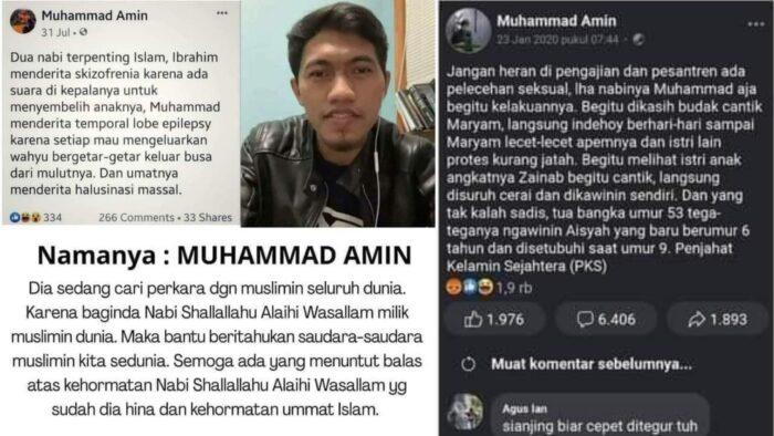 Kapan Kepala Muhammad Amin Dipenggal?