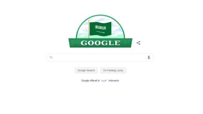 Mesin Pencari Google Rayakan Hari Nasional Saudi ke-90