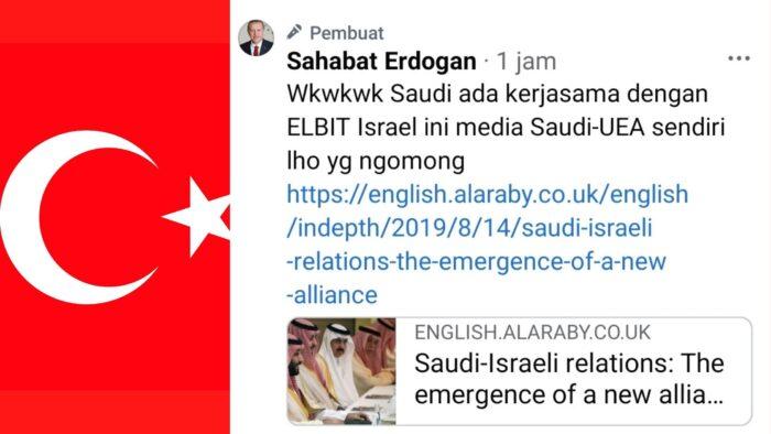 Angan-angan Mereka Agar Saudi Mengakui Israel