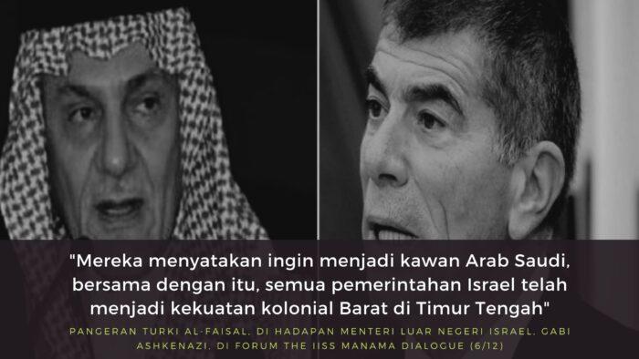 Video: Turki Al-Faisal Serang Israel di Hadapan Menteri Luar Negerinya Langsung