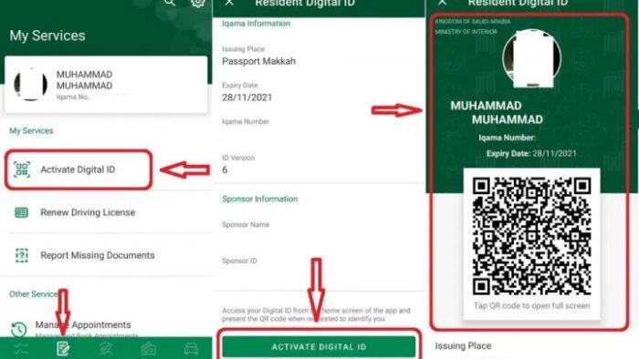 ID Digital Bagi Ekspatriat dan Warga Saudi Diluncurkan