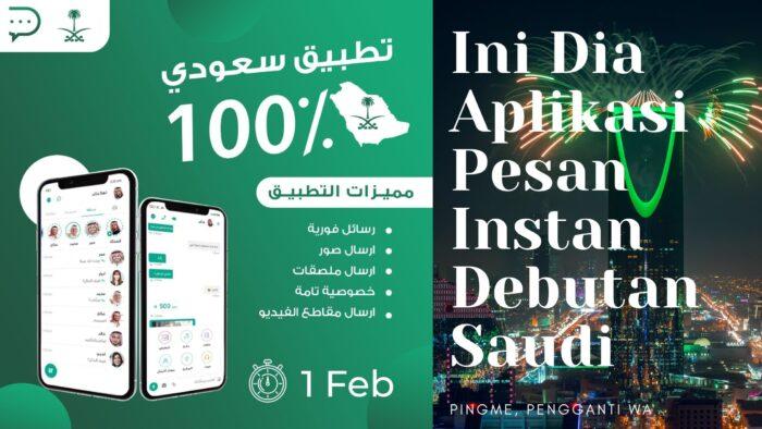 Ini Dia Aplikasi Pengganti WA Buatan Arab Saudi