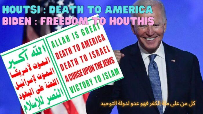 "Amerika Serikat Dan Houtsi Penyeru ""al-Maut Lil Amerika"""
