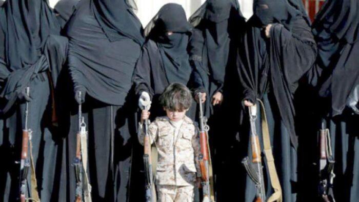 """Zainabiyat"" Pasukan Wanita Houtsi Perekrut Anak-Anak ke Medan Perang"