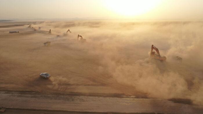 Giga Project Saudi Dengan Nol Limbah Mulai Sejak Pembangunan