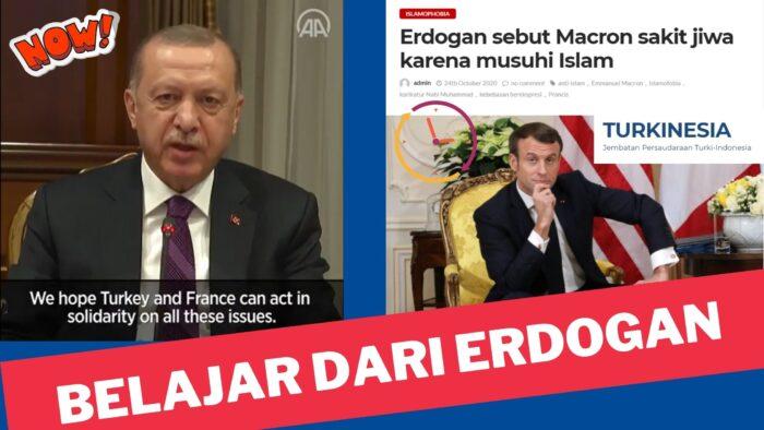 MBS Telah Belajar Menjaga Lisan Dari Erdogan