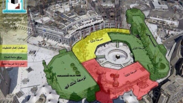 Lantai Pertama Dan Atap Ekspansi Raja Fahd Masjidil Haram Dibuka