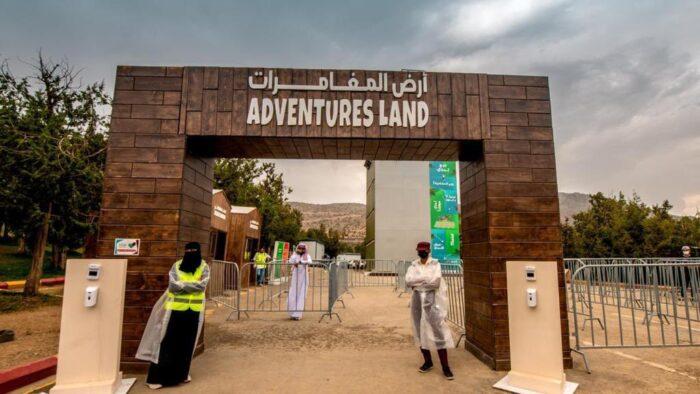 Musim Panas di Arab Saudi: Tantangan Adventure Land di Hutan Raghadan