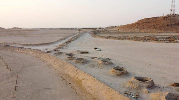 Saluran Air Kuno Firzan di Padang Pasir Arab Saudi Berusia 2000 Tahun