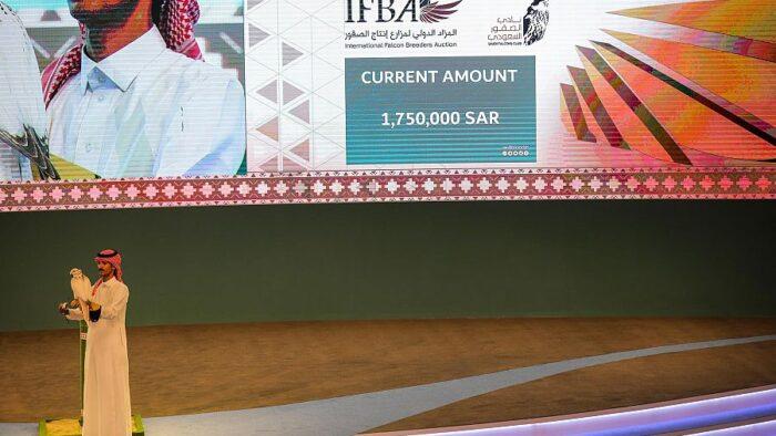 Elang Termahal Terjual $460.000 di Riyadh Pecahkan Rekor Dunia