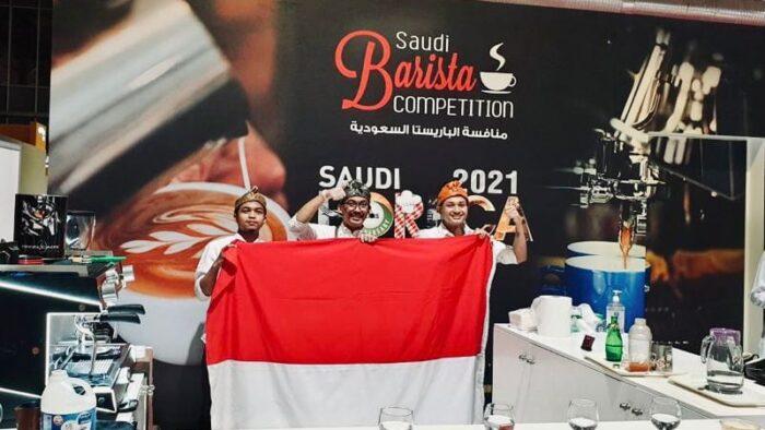 "Barista Indonesia Berjaya Di ""Saudi Barista Competition 2021"""